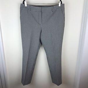 Ann Taylor Sz 14 Houndstooth Dress Pants